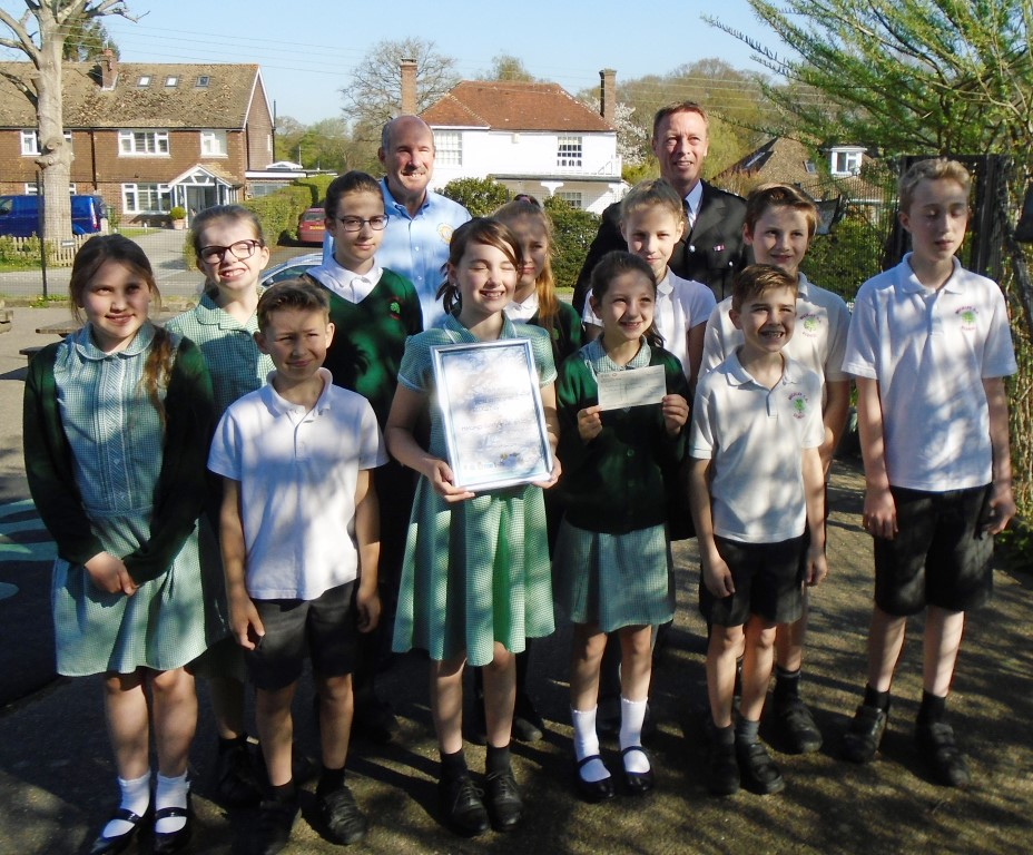 Year 6 Pupils win the regional Safety in Action competition!