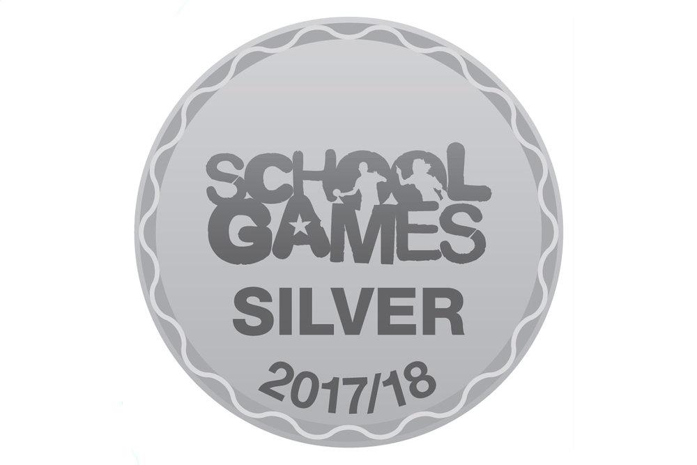 Sports Mark Silver Award 2017-18