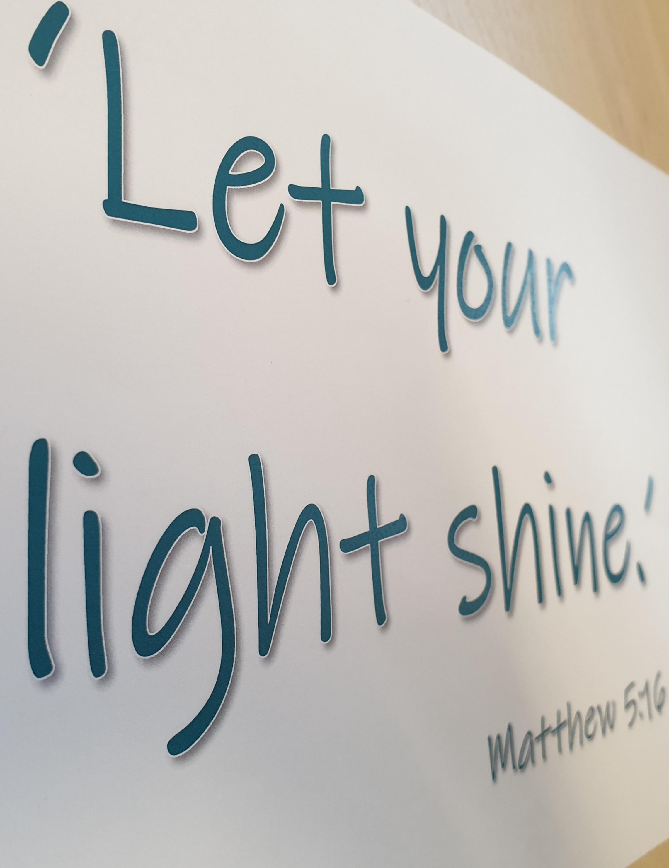 Let your light shine at Beckley