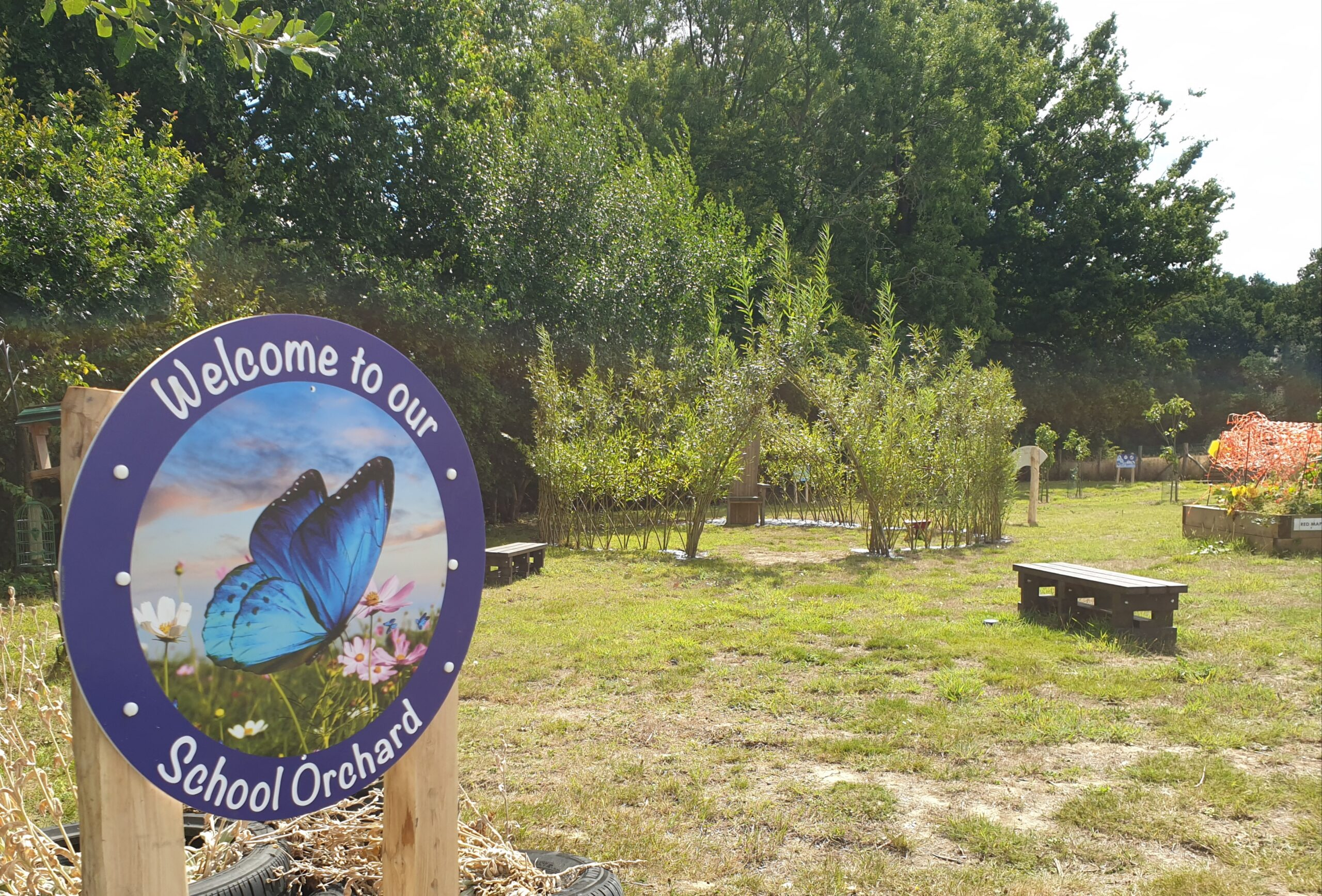 New Signs in our Orchard
