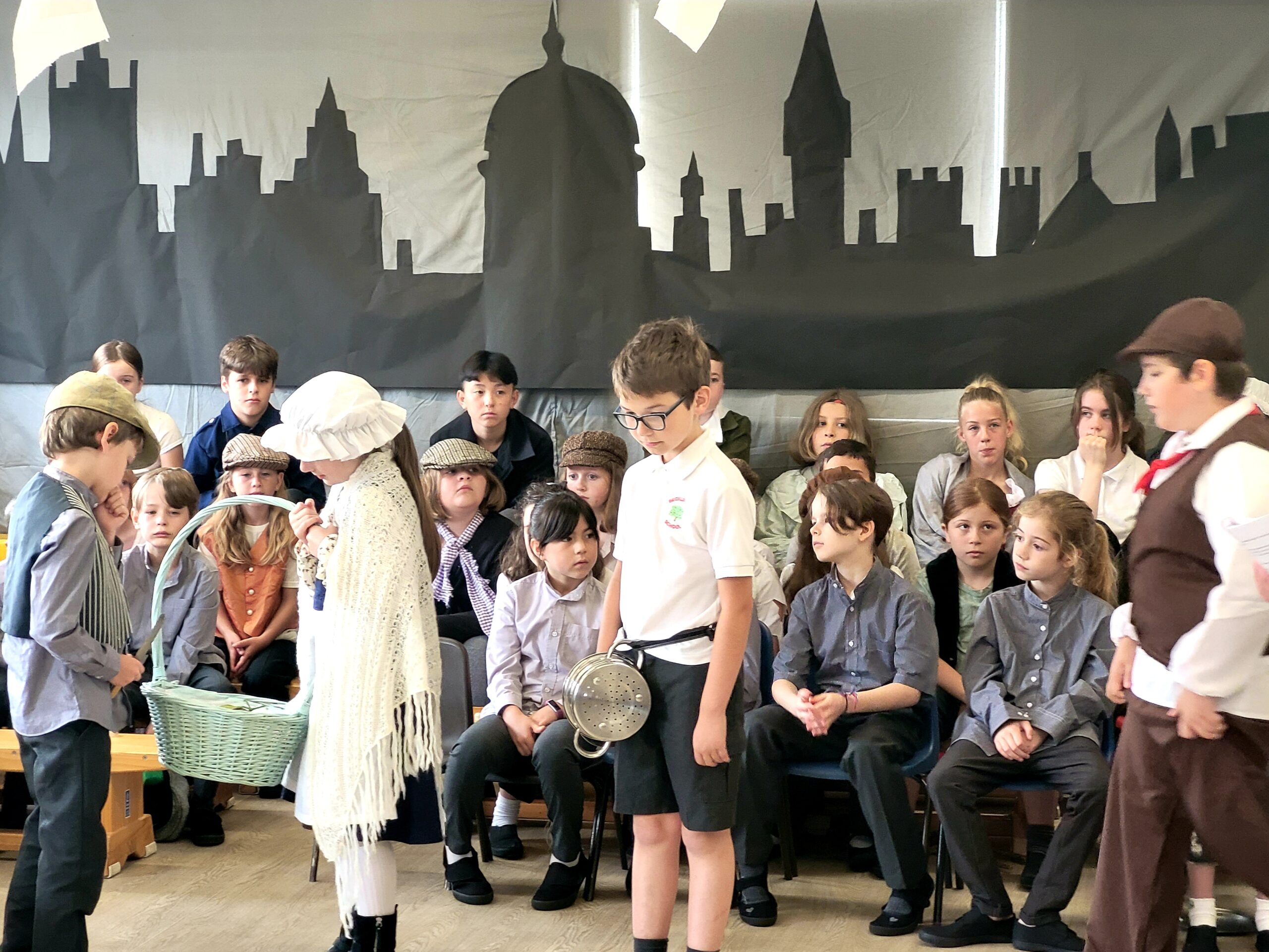 Oliver Production Ready for the Last Week of Term!